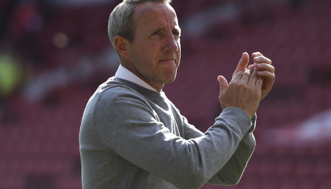 Charlton boss Lee Bowyer